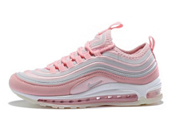 competitive price 4c2c7 2e1b7 Nike Air Max 97 Rosas y Grises