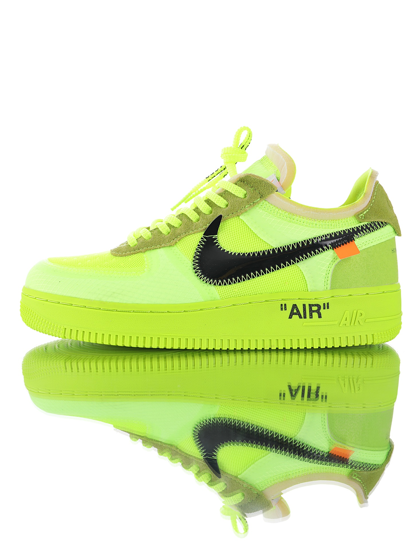 NIKE AIR FORCE VERDES OFF WHITE
