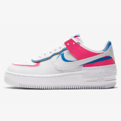 Nike Air Force 1 Shadow White Pink Blue